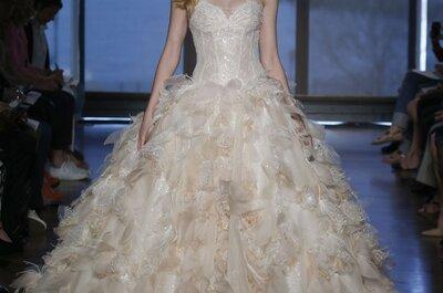 Ines Di Santo apuesta por confecciones majestuosas en sus vestidos de novia primavera 2015
