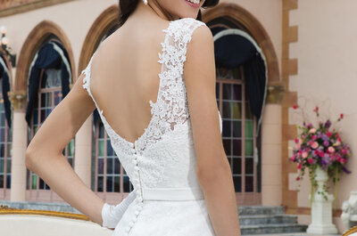 Vestidos de novia Sincerity Bridal 2015: artesanía bordada y cortes sensuales.