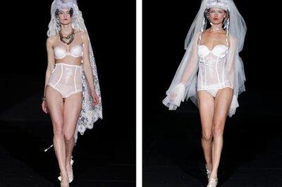 Lencería vintage para novias: tendencias 2013