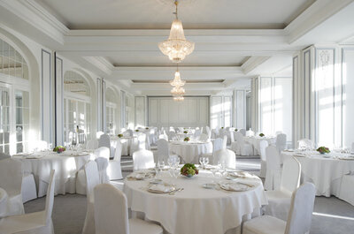 An ideal destination wedding hotel and great food at The Westin Palace, Madrid
