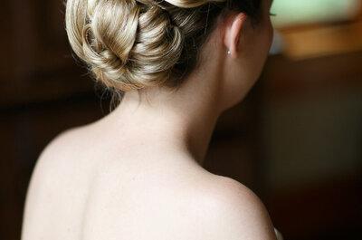 Bruidskapsels met knot 2015: inspiratie voor jouw bruiloft!