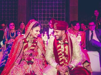 Amazing Real Wedding of Mahima and Mridul: The one that was filled with love