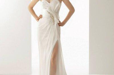 Suknie ślubne 2014: lekkość kolekcji SOFT od Rosy Clary