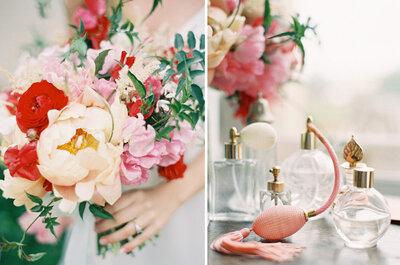 Spritz de elegancia: 5 perfumes must para usar el día de tu boda