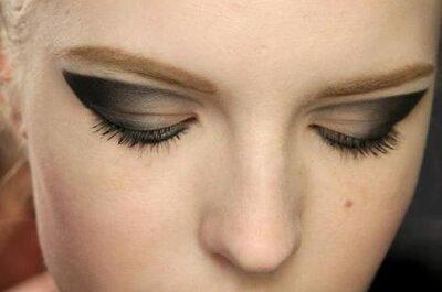 Aprende a maquillar tus ojos con las 3 tendencias otoñales para novias