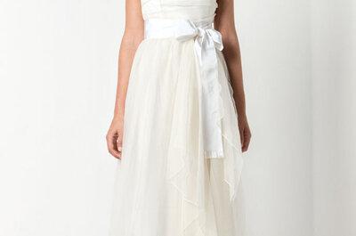 Pastelowe suknie ślubne z kolekcji Max Mara 2012