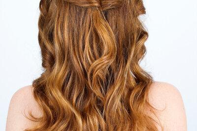 Como cuidar os seus cabelos antes do casamento para que BRILHEM no seu grande dia!