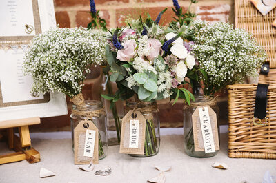 Real Wedding: A rustic summer solstice countryside wedding