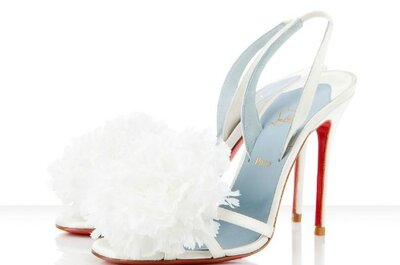 Selectie bruidsschoenen door Christian Louboutin