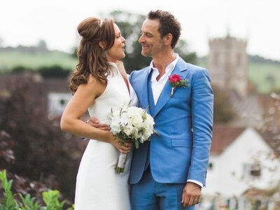 A perfect countryside wedding for Sarah and Hans!
