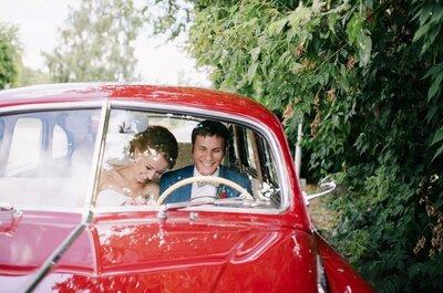 Just married: как выбрать машину для свадьбы? 5 подсказок, которые вам помогут с выбором!