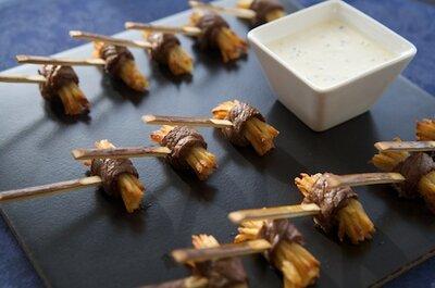 Tendencias 2012 en comida para boda:pequeños y creativos bocadillos