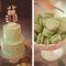 Más ideas originales para figuras en pasteles de bodas