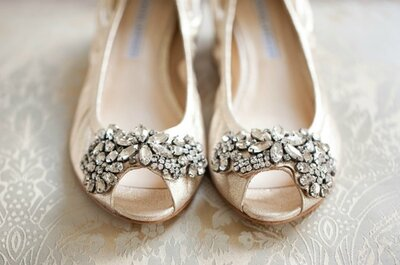 Tendencias en zapatos de novia 2014