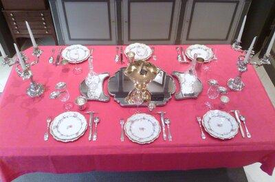 7 pièces d'orfèvrerie et d'argenterie à mettre sur votre liste de mariage