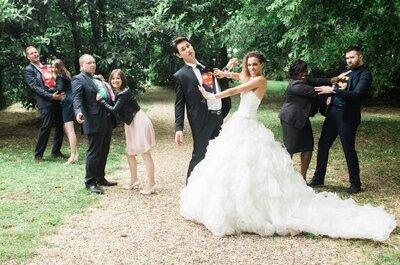 Une cérémonie à l'américaine, des super-héros... Le beau mariage de Séverine et Florian !
