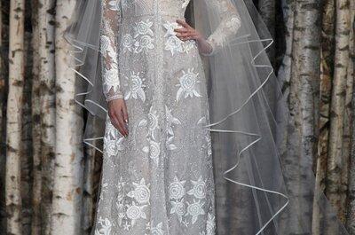 La feminidad de las novias de Naeem Khan en la New York Bridal Week
