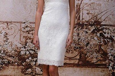 Vestidos de novia 2014 Monique Lhuillier para otoño