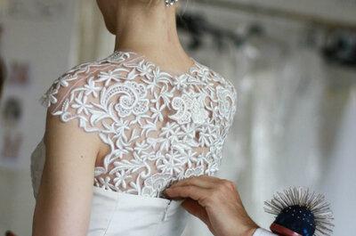 Penteados noivas Oscar de La Renta