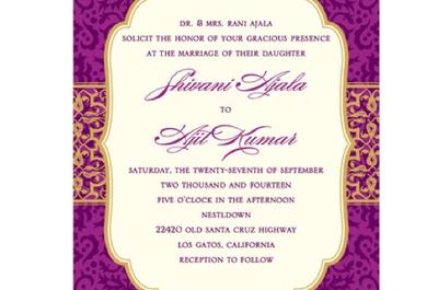 ¡Toma nota! 7 Puntos básicos de las invitaciones de boda que debes conocer