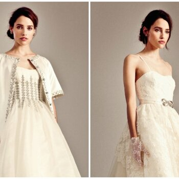 Vestidos de novia cortos ¡entrégate a lo asimétrico!