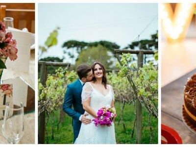 Rayane + Rodrigo: A Boho-Chic Wedding in Santa Catarina, Brazil