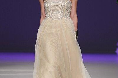 Wunderschöne Brautkleider in creme und champagner Farben