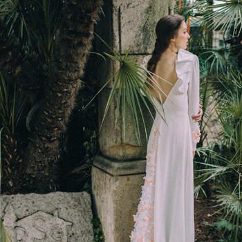 Vestidos de novia con los diseños más románticos del 2017. ¡Los querrás todos!