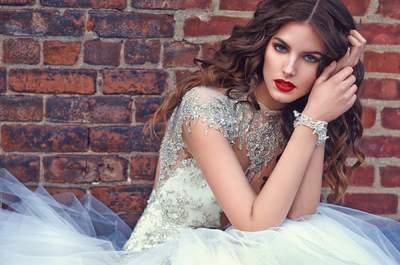 Ausgewählte Brautkleider mit Edelsteinen 2016 – Glanzvolle Momente am Hochzeitstag!
