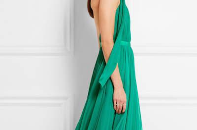 20 robes de soirée longues vertes 2017 : sortez le grand jeu !