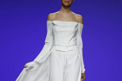 Vestidos de novia minimalistas 2016; la mezcla perfecta entre lo chic y lo clásico