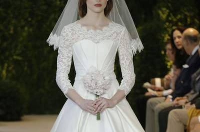 Carolina Herrera Spring 2014 Wedding Dresses: A Natural Inspiration