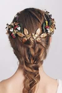 Penteados de noivas com trança 2016