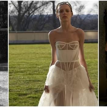 De Vera Wang bruidsjurken collectie van 2017: romantische ontwerpen met een vleugje 'boudoir'