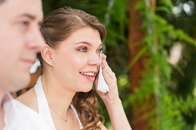Cliques maravilhosos dos momentos mais emocionantes de noivas nos seus casamentos!