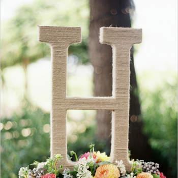 Donnez une touche originale à votre mariage en le décorant avec des lettres !