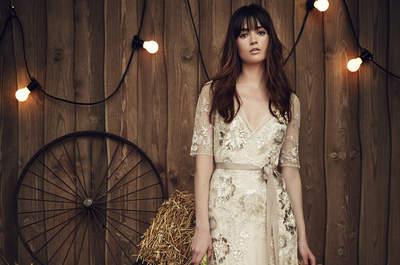 Vestidos de noiva com cinto 2017: realce a sua silhueta e brilhe como nunca!