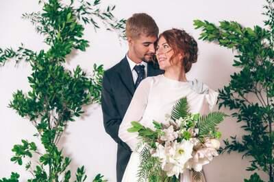 ¿El Greenery como color central de tu boda? Descubre cómo aplicar de manera elegante la nueva tendencia