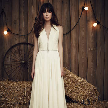 Halter Neck Bridal Gowns for 2017: 22 Showstopping Designs for the Modern Bride