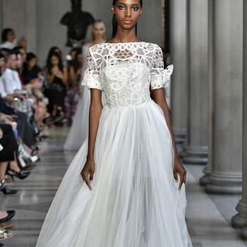 Mira los modelos de la New York Fashion Week Primavera-Verano 2017 que inspirarán tu traje de novia