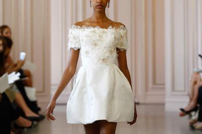 Something old, something NEW! Your short wedding dress for 2016 , dress to impress