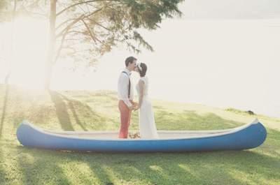 Los 50 besos de boda más románticos