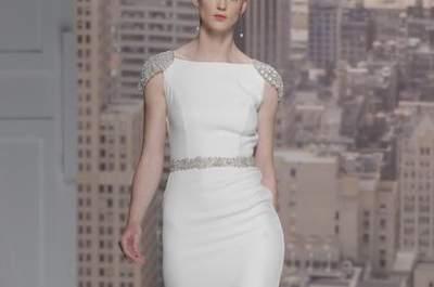 Vestidos de Novia Rosa Clará 2015 – Barcelona Bridal Week