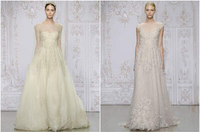 Monique Lhuillier's Fall/Winter 2015 Bridal Collection
