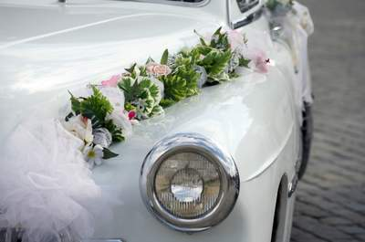 The Great Escape: Vintage Wedding Getaway Cars