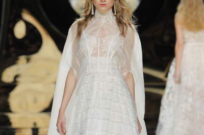 Suknie ślubne z transparentnym dekoltem 2017. Znajdź coś dla siebie!