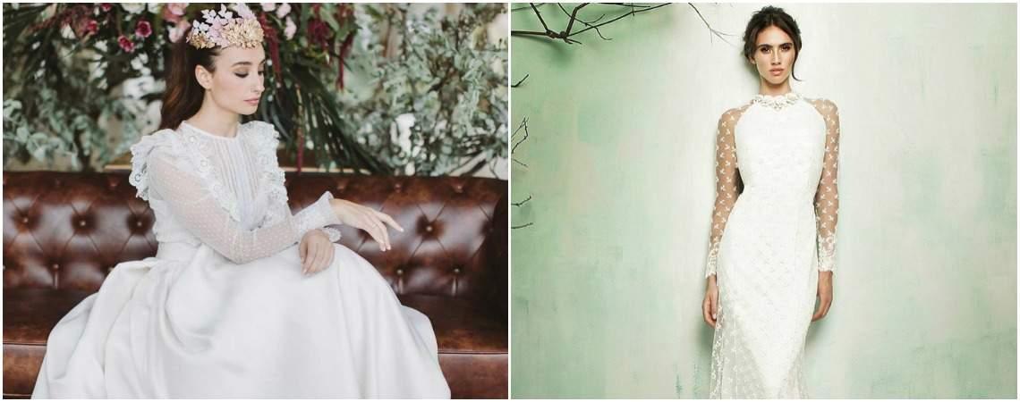 20 свадебных платьев с вышивкой плюмети. Новый хит!