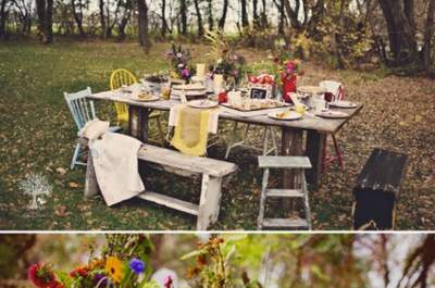 Summer days and picnic weddings