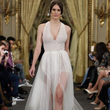 Entdecken Sie 22 neue Neckholder-Brautkleider für 2017! Sinnliche und raffinierte Brautlooks