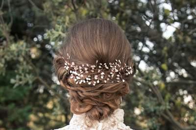 Los 60 mejores peinados de novia en 2016: Estilos ideales para una novia chic